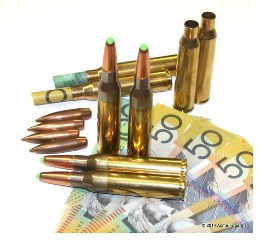 How much money to reload ammunition?