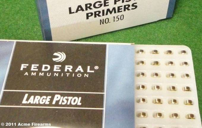 F150 - Federal Champion - Large Pistol Primers