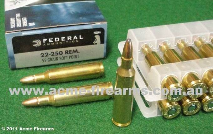federal rifle and handgun ammunition acme firearms australia